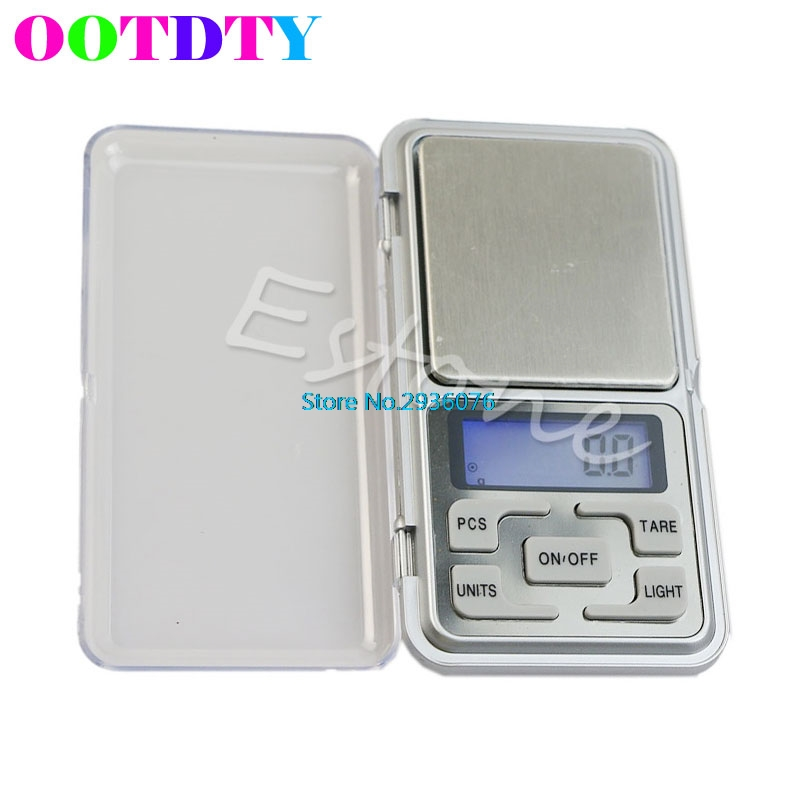 Pocket Scales 500g x 0.1g Digital Scale Tool Jewelry Gold Balance Portable Weight Scales Gram