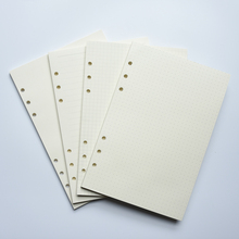 MaoTu Filler Paper Spiral Notebook Loose Leaf Paper Ring Binder Refills for Filofax Planner