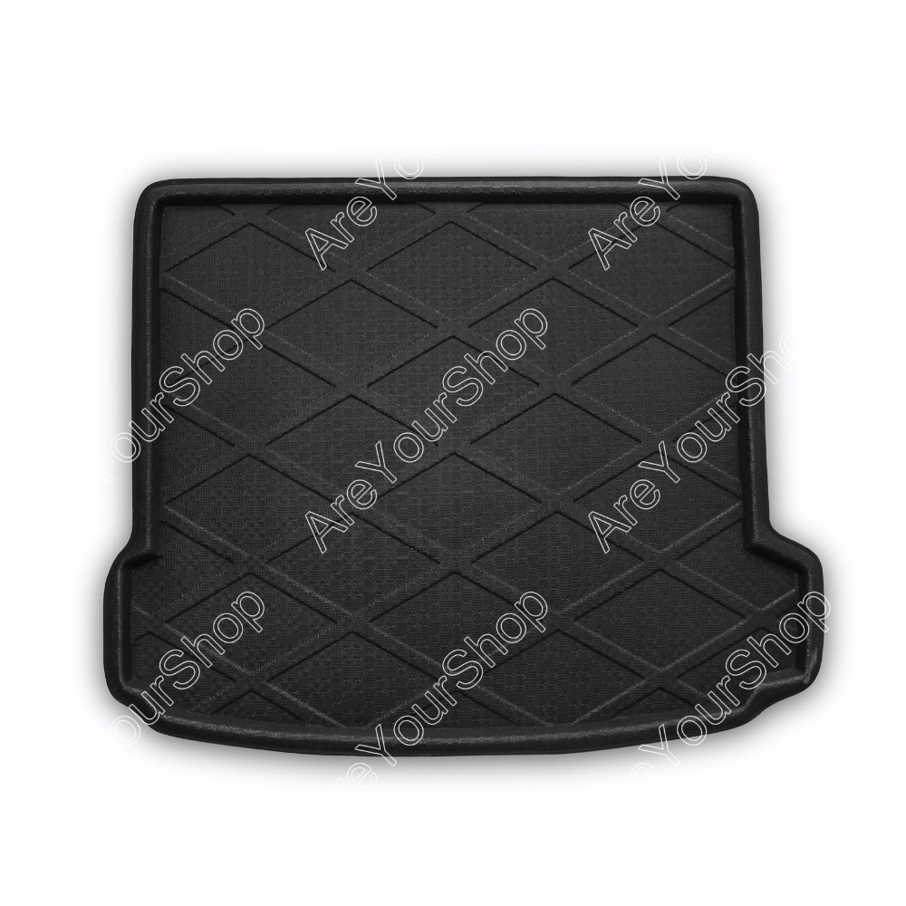 Car Auto Rear Trunk Boot liner Cargo Mat Tray Stickers For BMW X6 2007-2014 1PCS Black New Arrival Car Accessory Covers car rear trunk security shield cargo cover for volkswagen vw tiguan 2016 2017 2018 high qualit black beige auto accessories