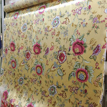240cm Width Printed Pure Silk Satin Fabric For Bedding Set