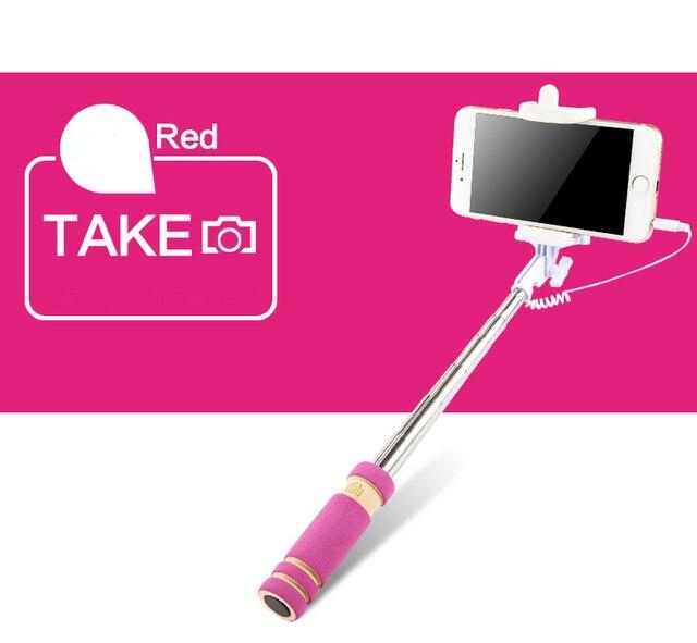 Selfie Sticks with Shutter Camera Monopod Tripod