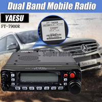 Yaesu FT 7900R Car Mobile Radio Dual Band 10KM Two Way Radio Vehicle Base Station Radio