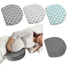 Подушка для грудного вскармливания, Женская Подушка на танкетке для беременных, моющаяся подушка для тела со съемным трикотажным чехлом