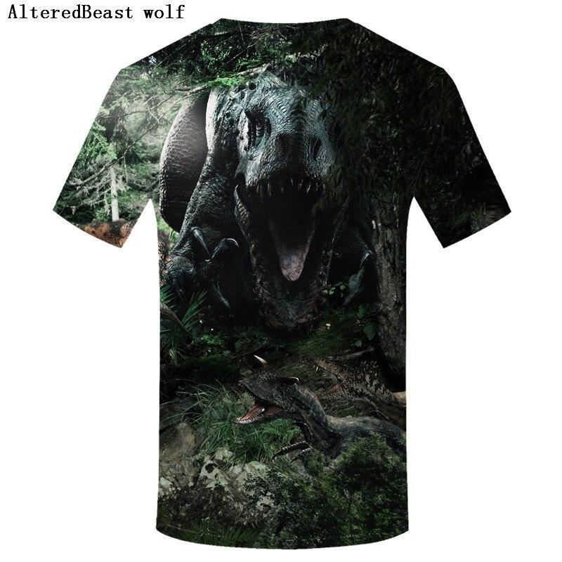 68014cfa849 Jurassic Park T Shirt Men O-neck Short Sleeve christmas shirt men dinosaur  Tshirt Mans Jurassic Park tee shirt homme