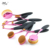 MULTIPURPOSE 10 unids/set Cepillo de Dientes Forma Ovalada Cepillo De Maquillaje Profesional Fundación Powder Brush Kits