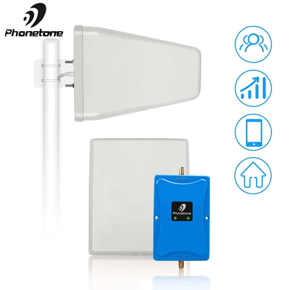 Cellular Booster GSM 900 2100 Dual Band Repeater 2g 3g Booster WCDMA 2100MHz 4g GSM 900mhz 3g W-CDMA Cell Phone Signal Amplifier