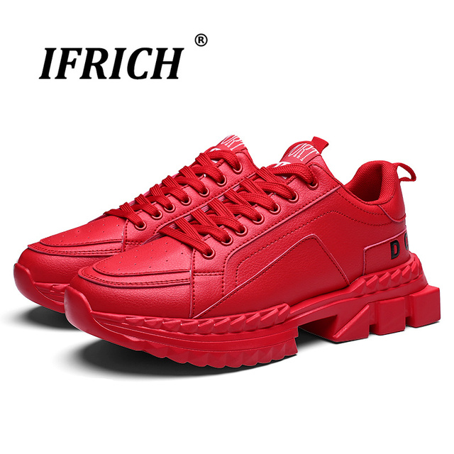 2019 Hot Sale Anti-Slippery Sports Trainers for Men Outdoor Athletic Running Shoes for Men Walking Jogging Shoes Men  Ifrich