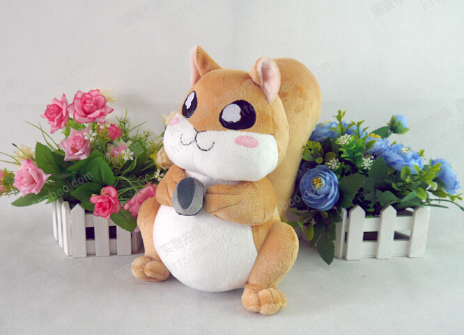 Akatsuki no Yona Yona Shin-ah cute Squirrel doll 100% Handmade Plush Toy Cosplay toys rebelts yona пояс с заклепками