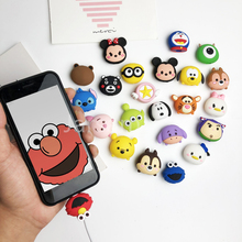 Cartoon Cable Protector Data Wire Cover for iPhone USB Charging 6S