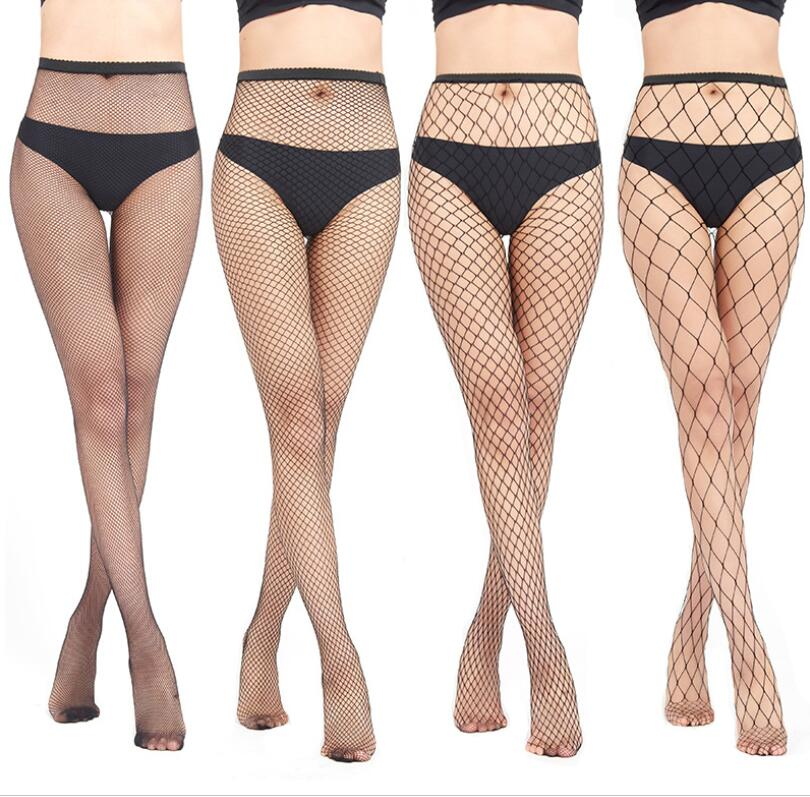 Womens Fashion Sexy Hollow Out Sexy Pantyhose Black Women Tights Stocking Fishnet Stockings Club Party Hosiery Calcetines