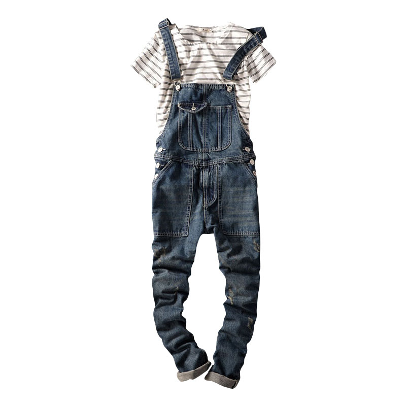 2016 Spring Autumn Fashion mens slim jeans overalls Casual bib jeans for men Male Ripped denim jumpsuit Suspenders Bibs 2017 spring autumn fashion mens skinny jean overalls casual bib jeans for men male ripped denim jumpsuit suspenders bibs 010802