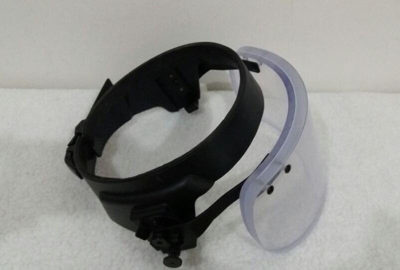 Бронешлем с забралом для M88 шлем с сплав Сталь прикрепляющиеся круглые баллистическая защитная маска для шлем MICH Личная самооборона оружия - 2