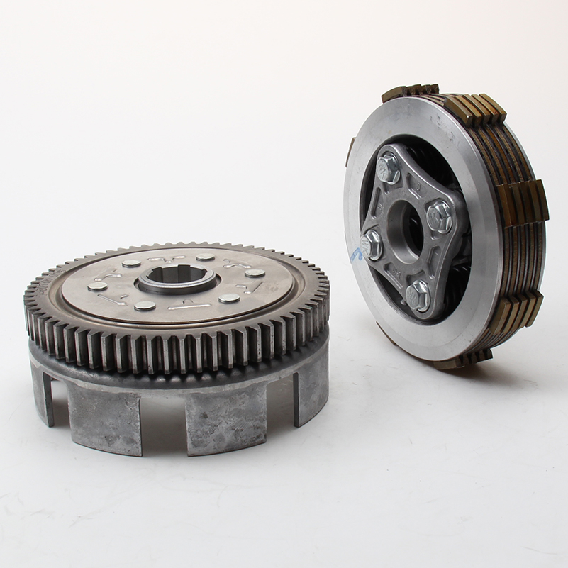 YINXIANG YX 140cc Horizontal Engine Clutch Assy Sets Kits KAYO Pit Pro GPX Dirt Pit Bike Engine Parts yinxiang yx140 140cc engine clutch assembly yx 140 oil cooled engine parts chinese kayo apollo bse xmotos dirt bike pit bike