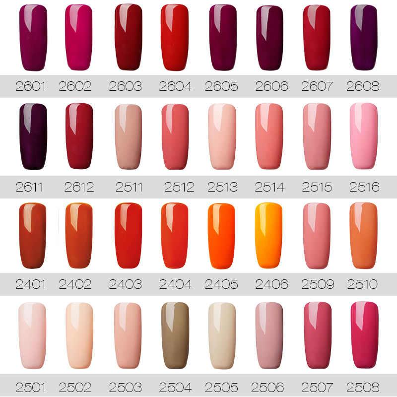 ROSALIND Gel híbrido esmalte de uñas Semi permanente arte de uñas todo para manicura conjunto UV uñas Gel esmalte gel lak capa superior para base