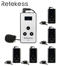 RETEKESS Wireless Audio Tour Guide System 99 Channel Microphone Transmission System 195-230MHz For Simultaneous interpreting system audio sa saxo 50 high hloss white