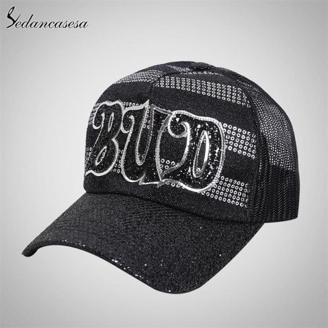 11703f2b94c Fashion baseball cap women trucker hat summer sun hat cap hip-hop ...