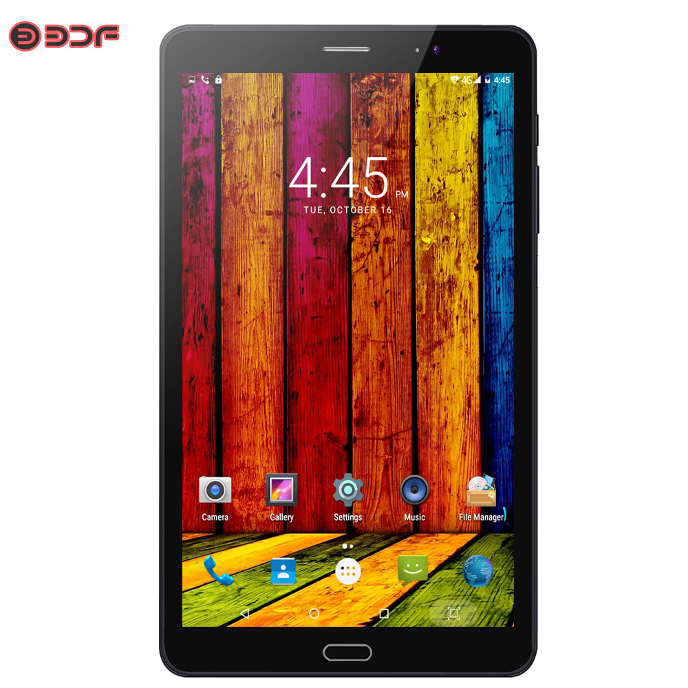 BDF 8 Inch Tablet Pc 3G 4G LTE Sim Card Android 6.0 Quad Core Tablets Pc 2GB RAM +16GB ROM Mobile Phone Call Network Pad Pc