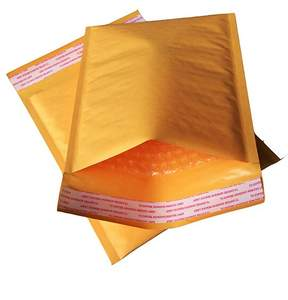 1PCS Yellow Waterproof Envelope  Bubble Packaging Mailing Bags
