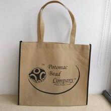 Всего 1000 шт./лот 35Hx30x10cm пользовательские печатные логотип нетканые сумки/Пользовательские Tote многоразовые хозяйственная сумка/экологичный/рекламы сумки