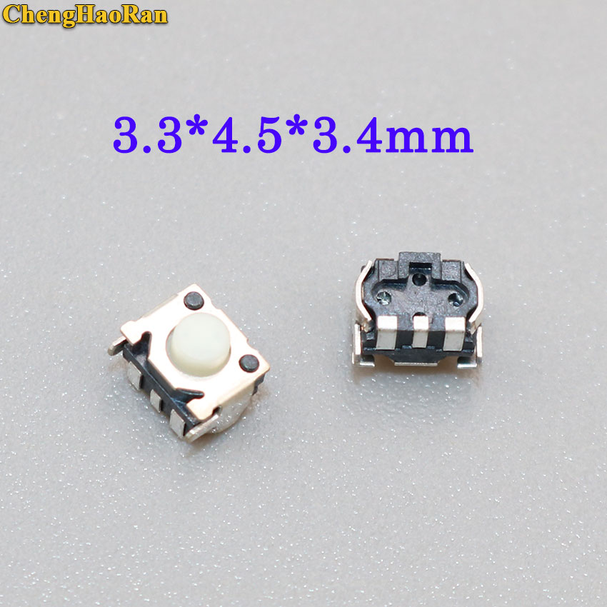 Lighting Accessories Switches Earnest Chenghaoran 20pcs Tact Switch Momentary Reset Button Switch Keys Button 3.3x4.5x3.4mm Micro Switch For Mp3/mp4 Soft And Antislippery