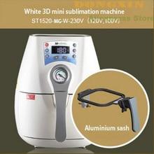 Бесплатная Доставка ST-1520-MG 3D Кружка печатная машина Сублимации Машины Многоцветный 3D тепла Кружки пресс-машина
