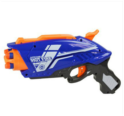 BLAZE STORM Kid Toy Pistol Gun Soft Gun Children 5 Bursts Soft Shot Gun Boy Foam Bullet Pistol 20 Bullets Sniper Shot Child Gift