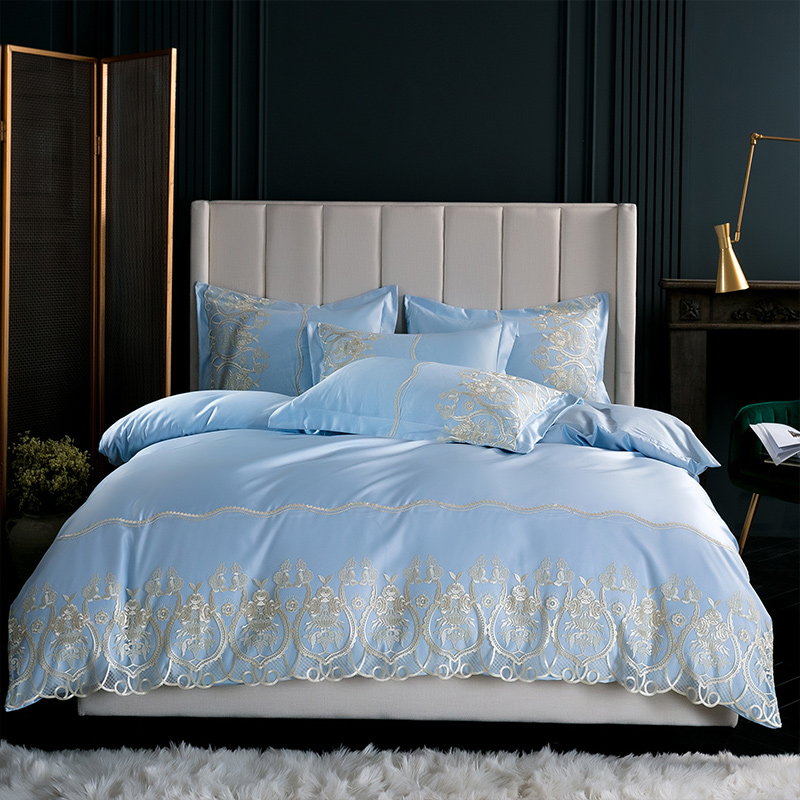 White pink gray satin bedlinen duvet cover cotton bed sheet fitted sheet king size queen bedding set bed set ropa de cam