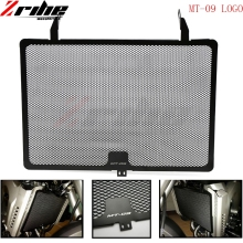 купить mt09 logo Motorcycle Radiator Guard Grille Protector Cover For Yamaha MT-09 MT09 MT 09 XSR900 FZ09 FJ09 MT FZ 09 2015 по цене 930.57 рублей