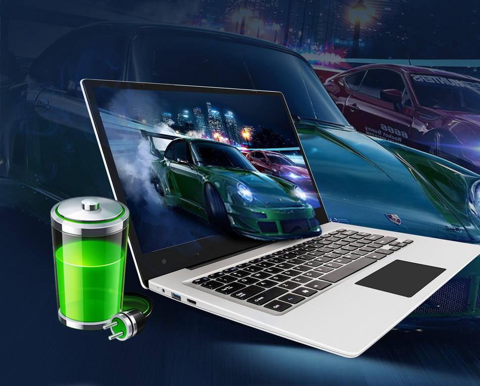 Jumper EZbook 3 Laptop Intel apollo N3350 14 Inch Windows 10 Narrow Frame notebook computer 1920x1080 FHD 4GB 64GB ultrabook (6)