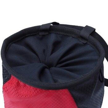 Chalk Bag Storage, Pouch For Rock Climbing, Adjustable Waist Belt50m 10