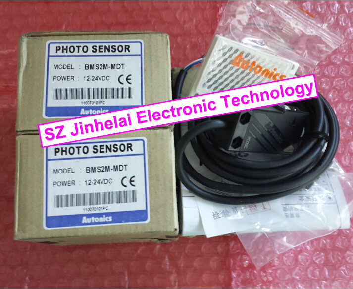 100% New and original  BMS2M-MDT   AUTONICS  PHOTOELECTRIC SWITCH    12-24VDC e3x da21 s photoelectric switch