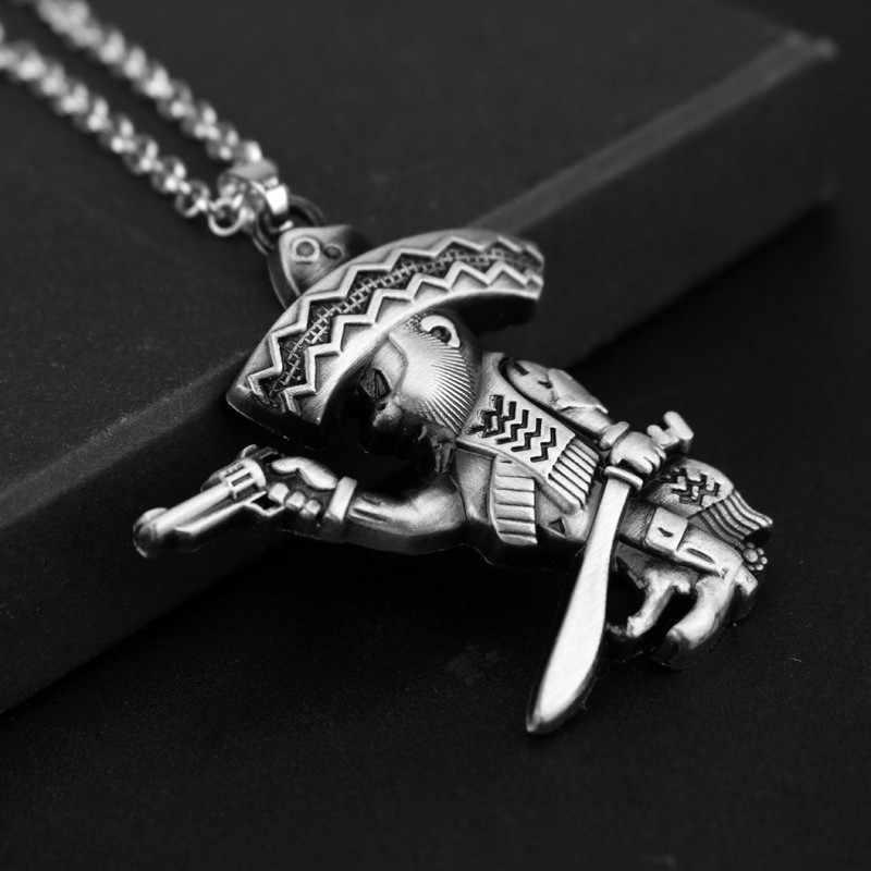 Kindred the Eternal ожерелье с охотниками от LOL Kindred Wolf and Lamb Mask кулон, комплект ожерелий для пар, подарок для друзей