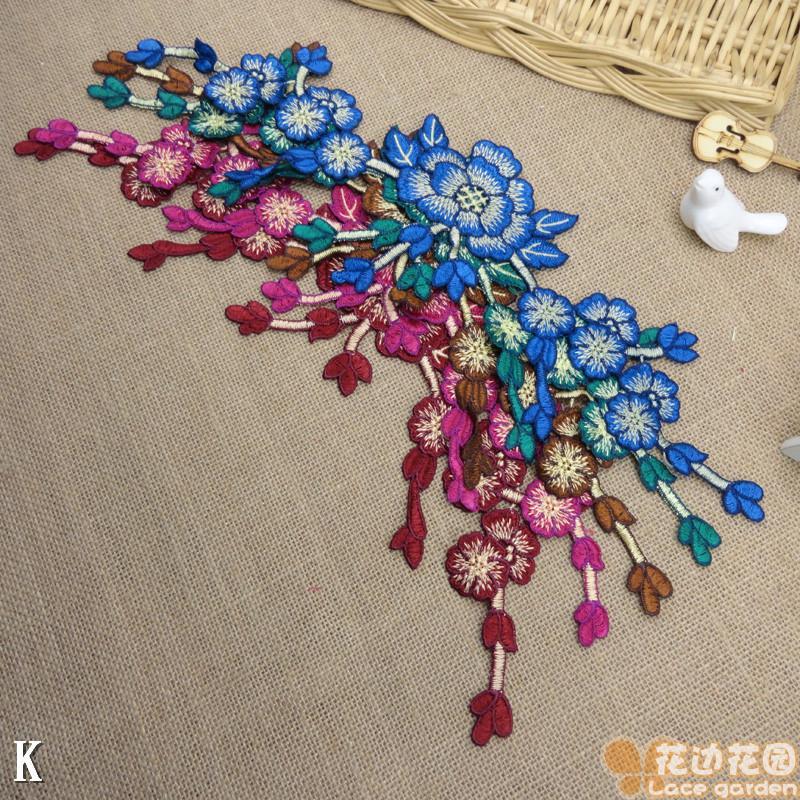 (1 stks / partij) chinese stijl blauw ~ groen ~ rood ~ bruin ~ - Kunsten, ambachten en naaien
