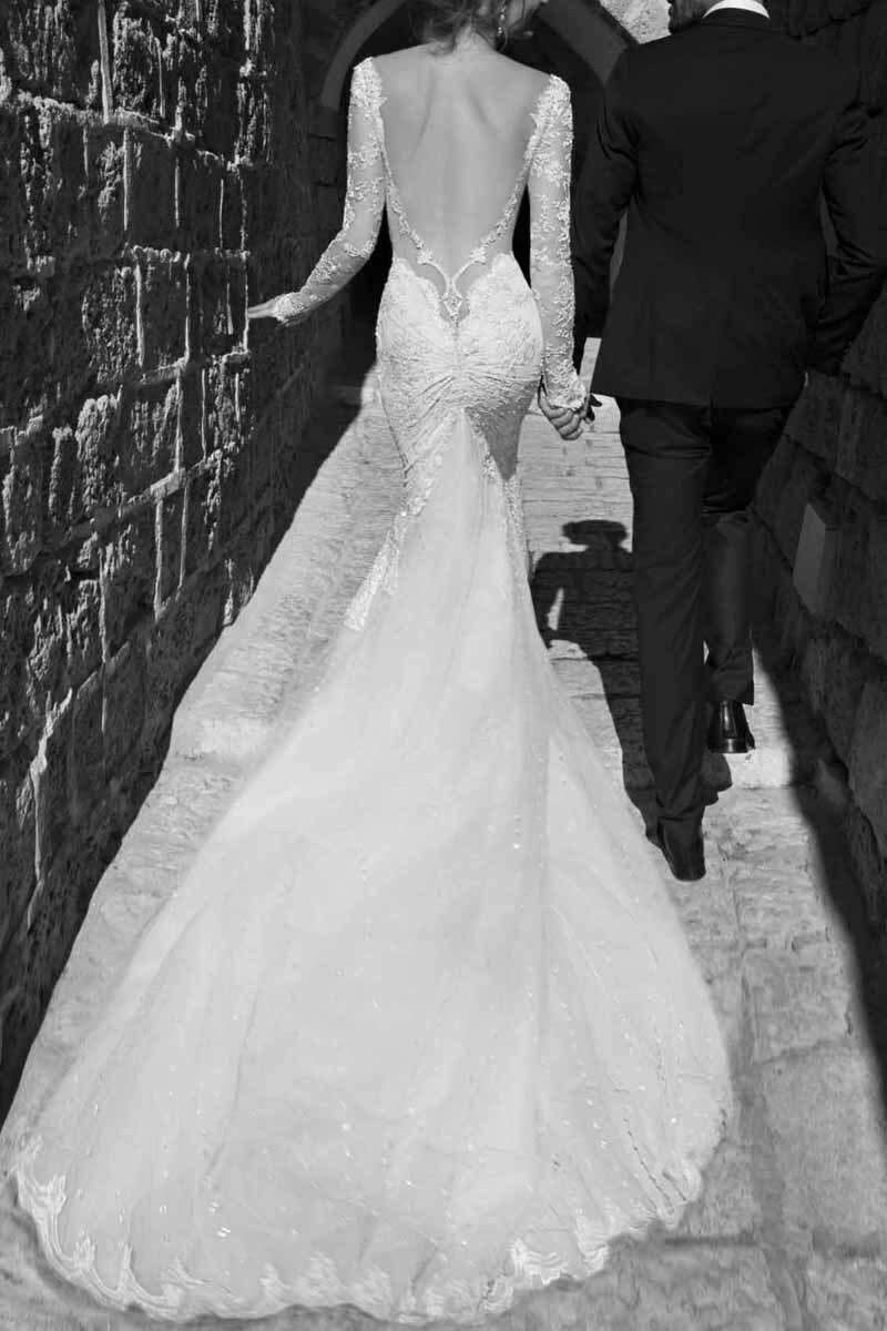 list detail backless wedding dresses backless mermaid wedding dress Zoom Backless Mermaid Wedding Dresses