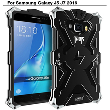 For Samsung J5 2016 Zimon Aluminum Metal Case Cover for Samsung Galaxy J7 2016  Smartphone Protection