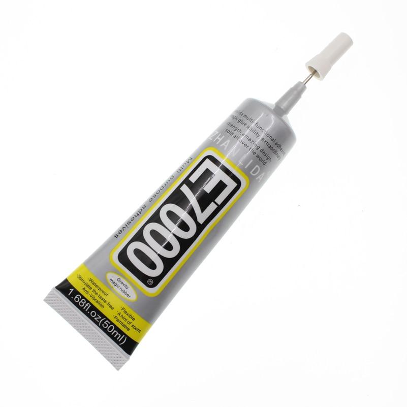 50ml Industrial Super Liquid Glue E7000 E-7000 Adhesive Metal Rubber Epoxy Resin B-7000 School UV Wood Fabric Transparent Clear
