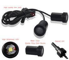 купить 2pcs LED Ghost Shadow Car projector lamp Car Door light LOGO for car  welcome light по цене 659.3 рублей