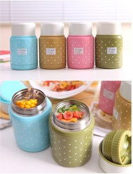 New pretty vacuum stainless steel thermos food jar lunch pot insulated 350ml.jpg 250x250