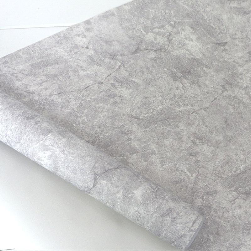 Retro Grau Braun Gelb Für Wände Vintage Einzigartige 3D Marmor Tapeten  Vinyl Für Wohnzimmer, Café Wohnkultur