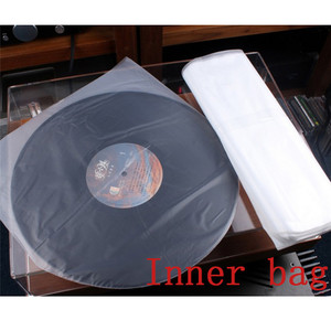 Image 2 - LEORY Bolsa de almacenamiento interior/exterior para giradiscos, 100 Uds., 12 pulgadas, 32cm x 32cm, Lp, para reproductor de CD de vinilo, grosor de registro