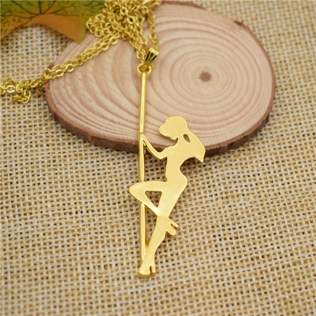 Lphzqh fashion strip dancer classic jewelry pole dancer necklace lphzqh fashion strip dancer classic jewelry pole dancer necklace pendant choker women necklace jewelry gift punk mozeypictures Image collections