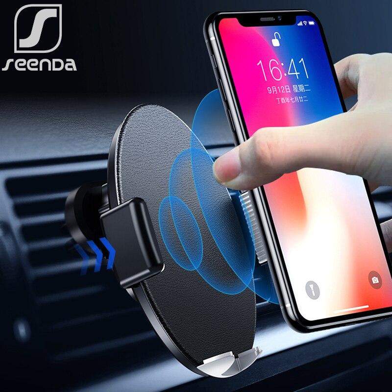SeenDa Infrared Sensor Intelligent Qi Wireless Charging 10W Fast Car Charger For iPhone Xs Max XR Huawei Samsung Black FridaySeenDa Infrared Sensor Intelligent Qi Wireless Charging 10W Fast Car Charger For iPhone Xs Max XR Huawei Samsung Black Friday