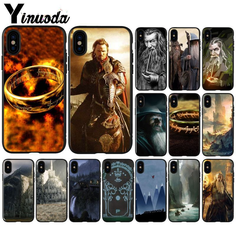 Yinuoda The Lord of Rings Movie Super Deal Mobile Case for Apple iPhone 8 7 6 6S Plus X XS MAX 5 5S SE XR Case image