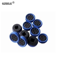 GZEELE 10pcs/lot Nipple Rubber Mouse Pointer for DELL E6400 E6410 Trackpoint Little Dot Cap Stick trackpoint mouse rubber caps