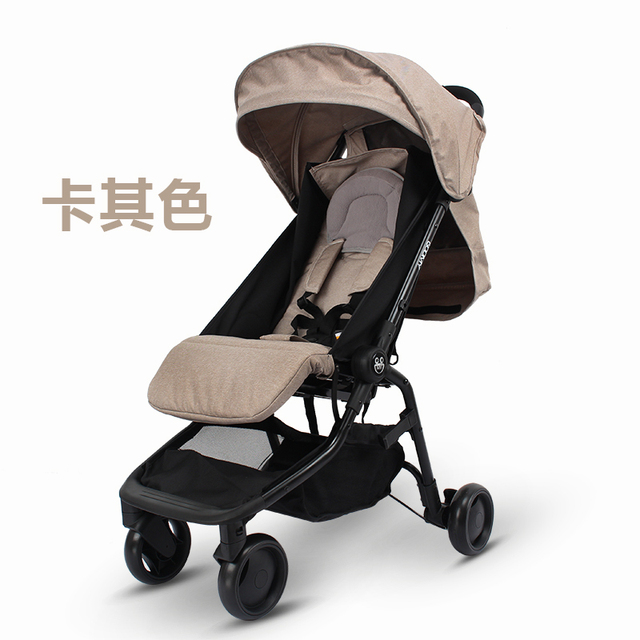 Europe baby stroller 2 in 1 175 degree sleeping baby basket 0~36 months baby stroller pocket baby carraige pram trunk stroller