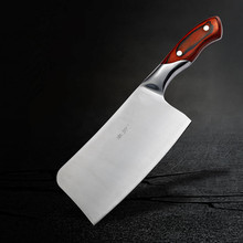 Free Shipping FENREN Stainless Steel Kitchen Chop Bone Knife Cutting Vegetable Meat Slicing Knife Chef Cooking Knives Cleaver
