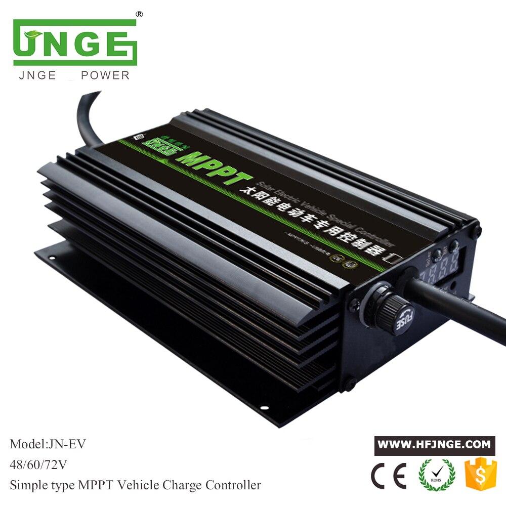 Boost MPPT Solar Ebike Controller for Electric Bicycle 48v/60v/72v Auto Setting jamo 60v 72v