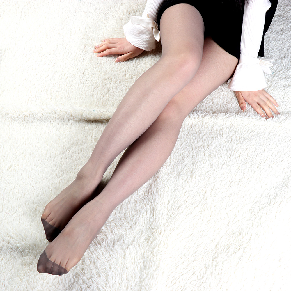 4 Colors Women Sexy Summer Long Stockings Thin Semi Sheer Tights Full Foot Thin Tights Leg Pantyhose Panties Stockings