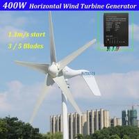 new arrival 1.3m start up 3 phase AC 12v 24vhorizontal wind turbine with 12V 24V Auto regulator for home or streetlight use