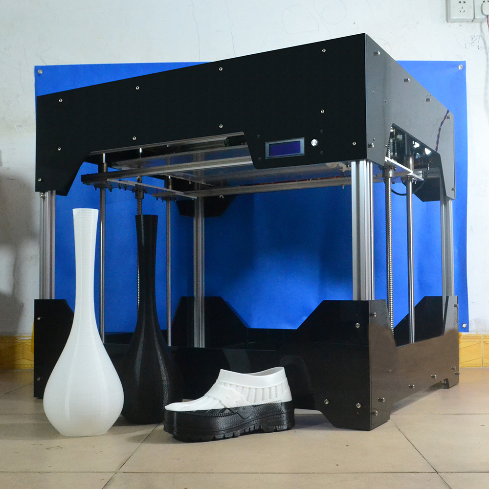 DMS DP7 500*500*500mm big printing size Auto leveling 3D Printer kit,24V power supply,Acrylic frame Free shipping original anycubic 3d pinter kit kossel pulley heat power big size 3d printing metal printer fast shipping from moscow